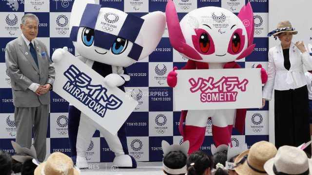 Mascotele Jocurilor Olimpice 2020 de la Tokyo - Miraitowa şi Someit - au fost prezentate oficial