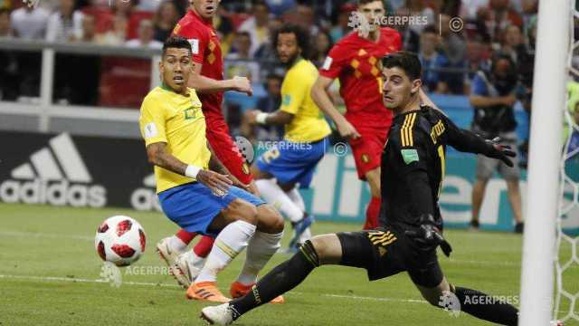 Fotbal - CM 2018 | Belgia elimină Brazilia şi va întâlni Franţa în semifinale