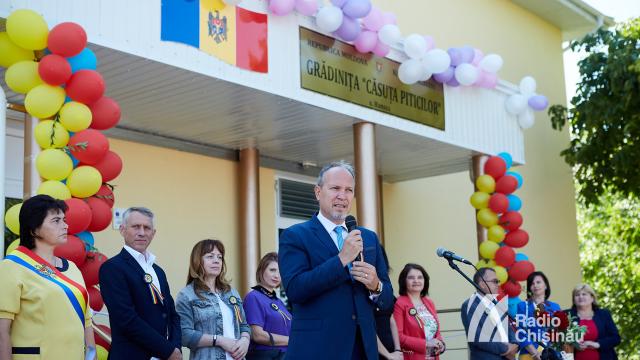 FOTO | Grădinița din satul Hansca, renovată cu sprijinul financiar al României