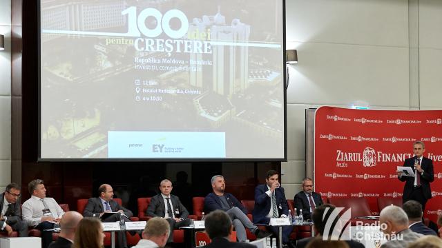 """Conferință dedicată parteneriatelor de afaceri între R.Moldova și România -""""O sută de idei pentru creștere"""""""