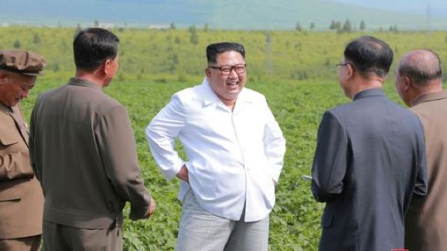 Kim Jong-un ar fi ales să viziteze o fermă de cartofi în loc de o întâlnire cu Mike Pompeo