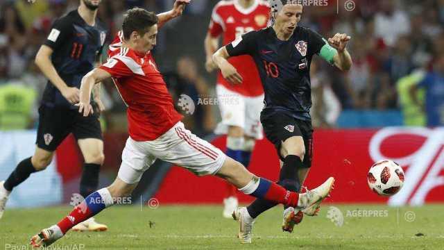 Fotbal - CM 2018 | Croaţia, calificată în semifinale, după 4-3 cu Rusia la loviturile de departajare