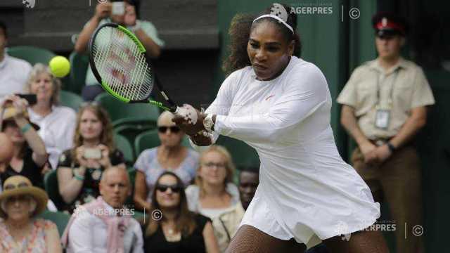 Tenis | Serena Williams, în semifinale la Wimbledon, la zece luni după ce a născut