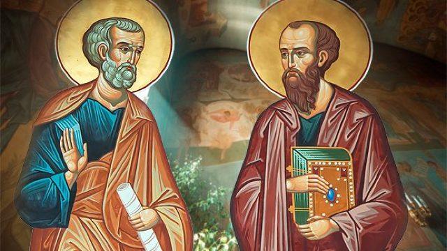 Creștinii ortodocși de stil vechi îi sărbătoresc astăzi pe Sfinţii Apostoli Petru şi Pavel