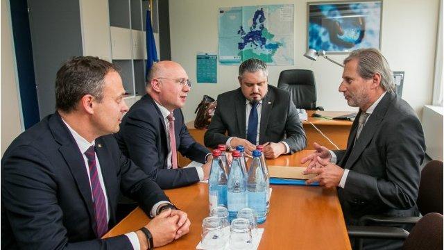 Andrian Candu nu știe despre stoparea acordării primei tranșe din cele 100 de milioane de euro de la UE (Revista presei)
