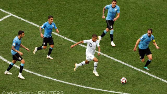 Fotbal - CM 2018 | Franţa, calificată în semifinale, după 2-0 cu Uruguay