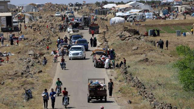Iordania încearcă să faciliteze livrarările de ajutoare în sudul Siriei