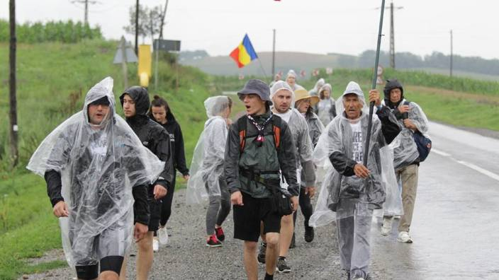 Marșul Centenarului | La finalul primei săptămâni, participanții se îndreaptă spre Sibiu, iar pe 1 septembrie vor fi la Chișinău