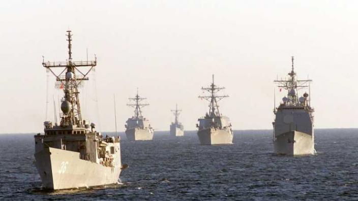 Exerciţii militare româno-franceze au avut loc pentru prima dată în Marea Neagră