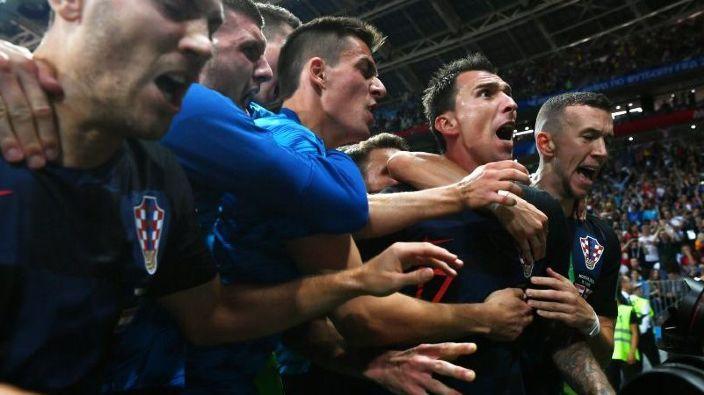 Croația s-a calificat în premieră în finala Cupei Mondiale de fotbal după ce a învins Anglia