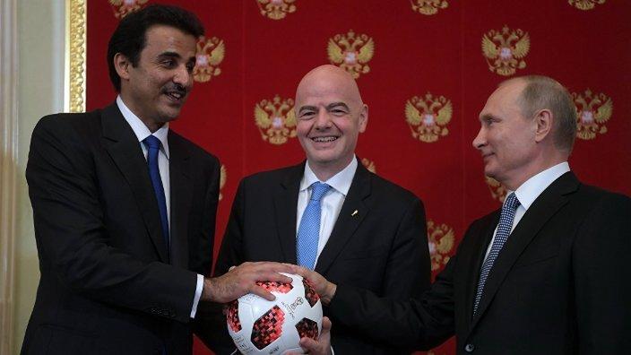 Fotbal | Putin a predat emirului Qatarului organizarea Cupei Mondiale din 2022