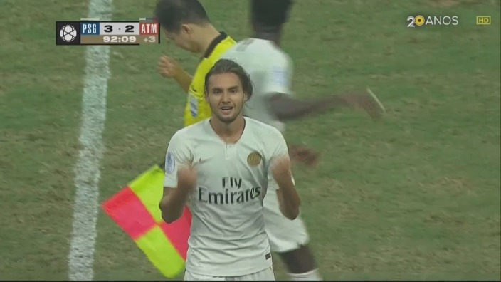 VIDEO   Virgiliu Postolachi a marcat golul victoriei pentru PSG contra celor de la Atletico Madrid