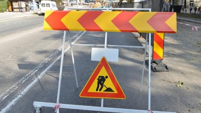 Traficul rutier este suspendat parțial pe strada Columna