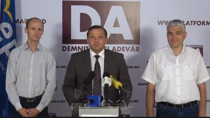Andrei Năstase face apel la instituțiile internaționale să nu admită aplicarea legii amnistiei fiscale