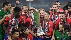 Atletico Madrid a câştigat Supercupa Europei