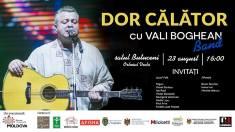 Familia Diminescu | Concert la Butuceni, DOR CĂLĂTOR alături de Vali Boghean Band și invitații săi