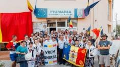 Marșul Centenarului | Au mers pe jos pentru Unire 1000 de km! Bârladul, următoarea oprire pe traseu (VIDEO)