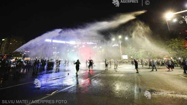 16 organizaţii neguvernamentale îşi exprimă revolta faţă de violenţele manifestate în Piaţa Victoriei, la București