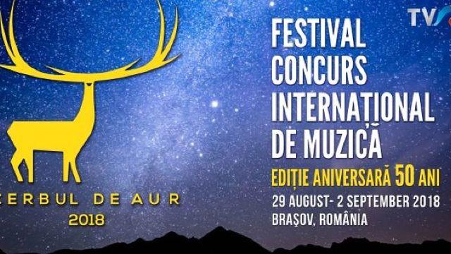 Aurelian Temișan și Ilinca Avram prezintă prima seară a Festivalului Cerbul de Aur