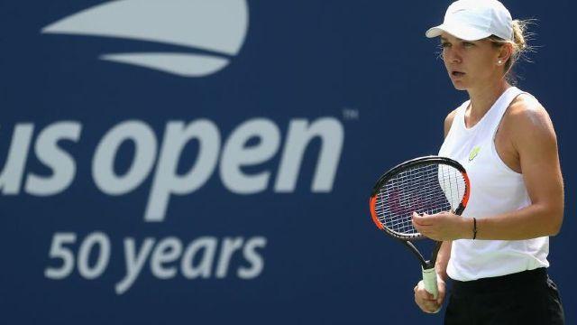Simona Halep, eliminată în primul tur al US Open