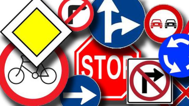 Câteva dintre ele mai neobișnuite indicatoare rutiere. Unele se găsesc în România şi Ucraina