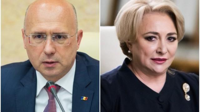 Pavel Filip a trimis o scrisoare premierului român Viorica Dăncilă în care semnalează despre problemele de la vamă