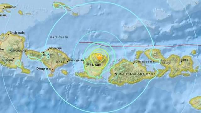 O insulă din Indonezia s-a ridicat cu 25 de centimetri în urma cutremurului de 7 pe Richter, de pe 5 august