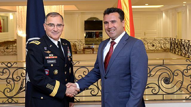 Premierul macedonean: Apartenența la NATO este favorabilă pentru întreaga regiune
