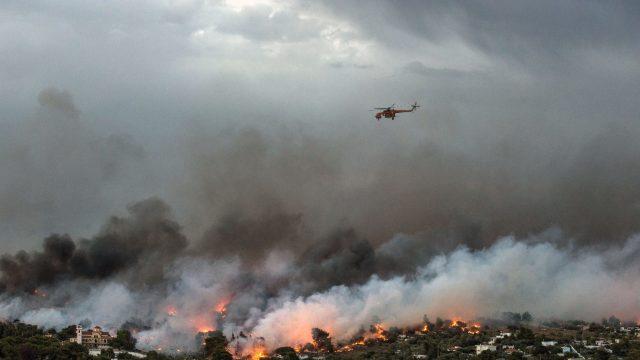 Atenționare de călătorie | În Grecia se menține risc ridicat de incendii, avertizează Ministerul român de Externe