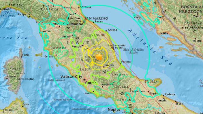 Un seism cu magnitudinea 4,7 s-a produs noaptea trecută în regiunea italiană Molise