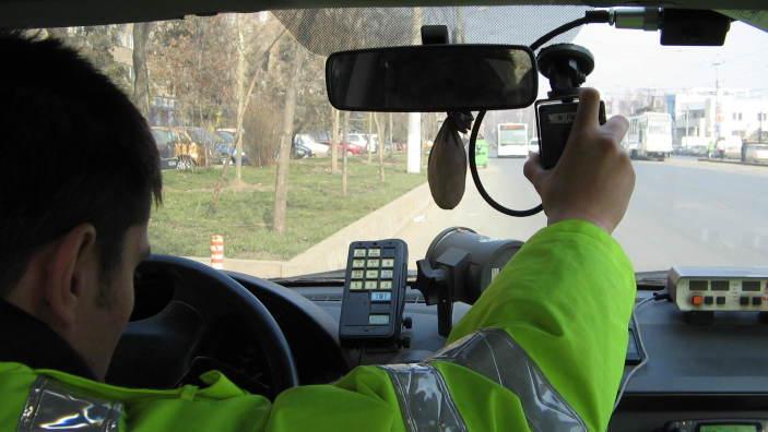Radare și polițiști pe drumurile publice naționale