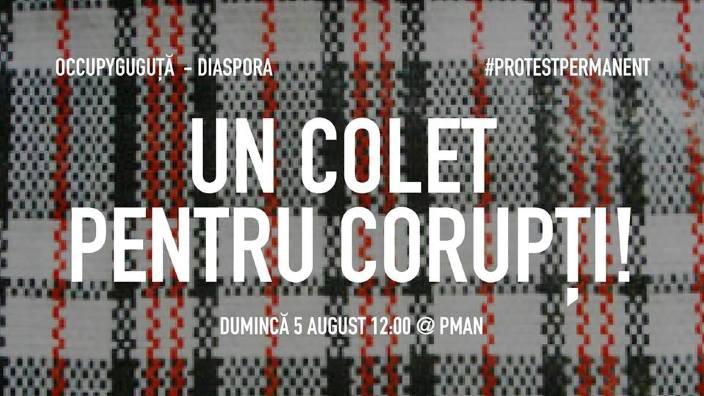 """Un nou protest antiguvernamental, duminică, la Chișinău. Cetățenii sunt așteptați cu """"Un colet pentru corupți"""""""