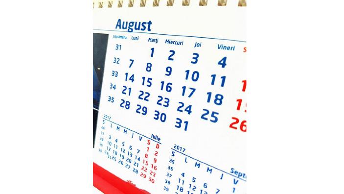 Bugetarii ar putea avea nouă zile de odihnă în august