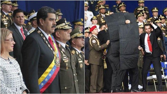 Doi oficiali militari suspecţi în atacul asupra lui Maduro au fost arestați în Venezuela