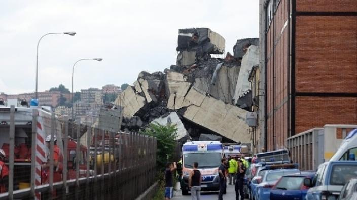 Prăbuşirea podului de pe autostrada din Genova a luat viața a 35 de oameni, dintre care trei copii