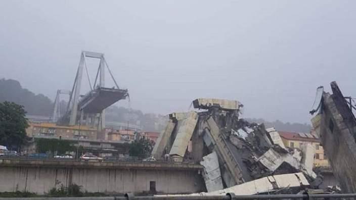 Prăbuşirea Podului Morandi din Genova, Italia | Un nou bilanţ al victimelor