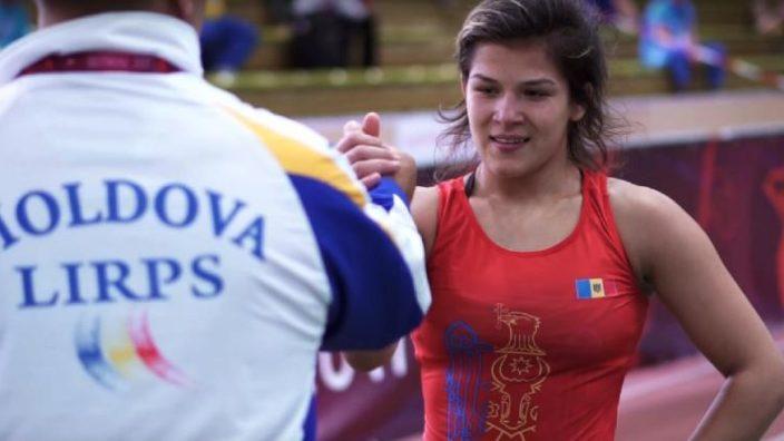 VIDEO   Anastasia Nichita a cucerit aurul la europenele de luptă printre juniori