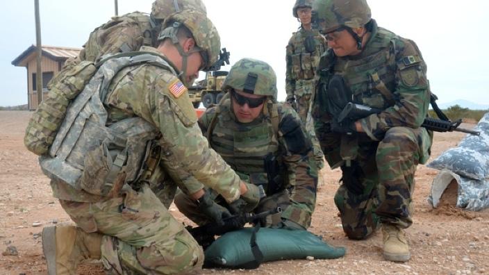 Militarii moldoveni se antrenează, alături de cei americani, la Fort Bliss, în Texas (FOTO)