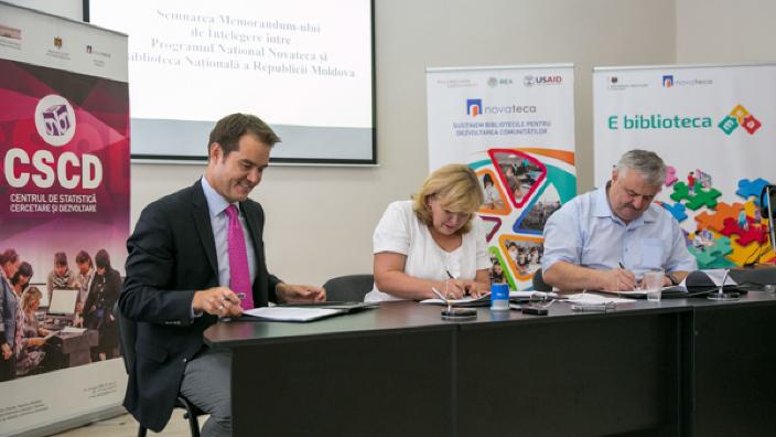Memorandum pentru modernizarea bibliotecilor