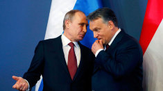 Situaţia Ucrainei va fi discutată de Vladimir Putin cu Viktor Orban