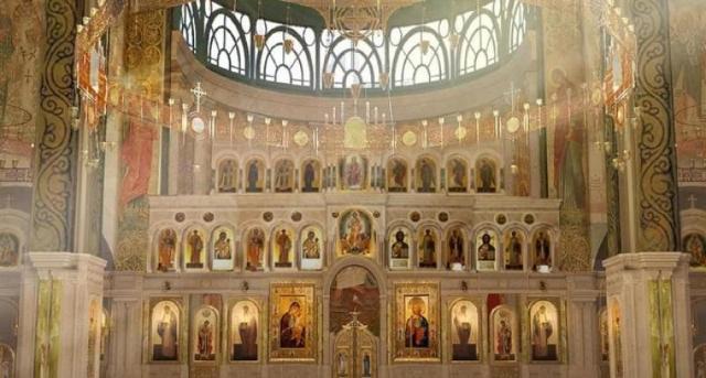 FOTO | Armata rusă își face o mega-catedrală din sticlă și metal, cu arhitectură inspirată parcă din Game of Thrones