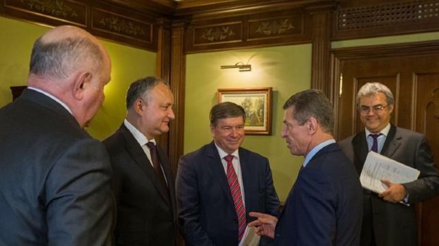 Declarații contradictorii privind întâlnirea lui Igor Dodon cu Dmitri Kozak la Moscova