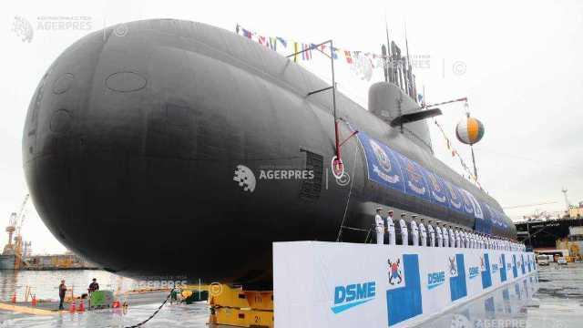 Coreea de Sud lansează la apă primul său submarin echipat cu rachete