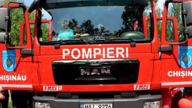 Intervenție mai puțin obișnuită a pompierilor (FOTO)