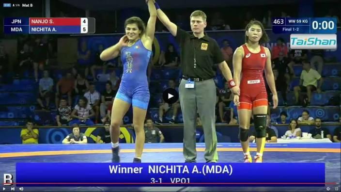 VIDEO | Anastasia Nichita – campioană mondială la lupte printre tineret