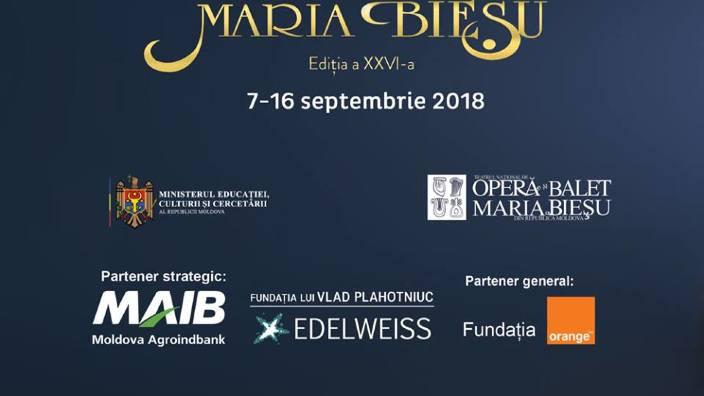 """Festivalul Internațional de Operă și Balet """"Maria Bieșu"""" se deschide astăzi. Programul evenimentului"""