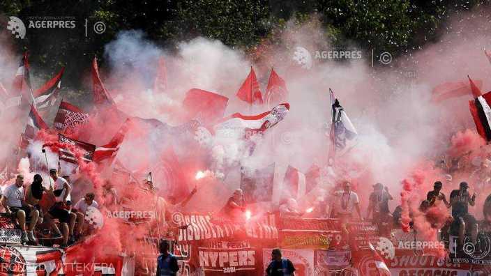 Fotbal | Fortuna Dusseldorf, amendată pentru comportamentul suporterilor