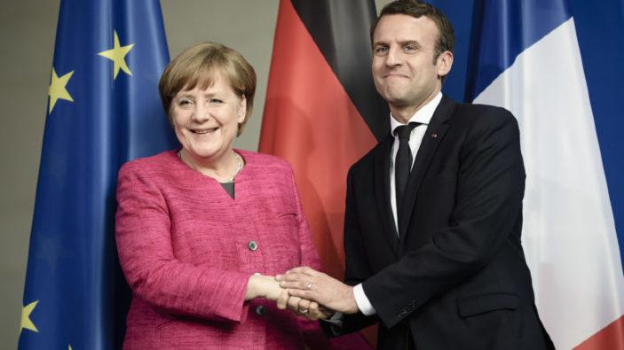 Un nou tratat pentru a întări relaţia franco-germană va fi semnat astăzi de Angela Merkel și Emmanuel Macron