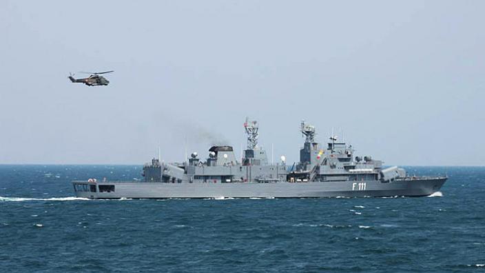 Exerciţii militare româno-ucrainene în Marea Neagră