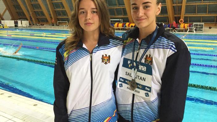 Înotătoarea Tatiana Salcuțan a cucerit două medalii de bronz la Cupa Mondială